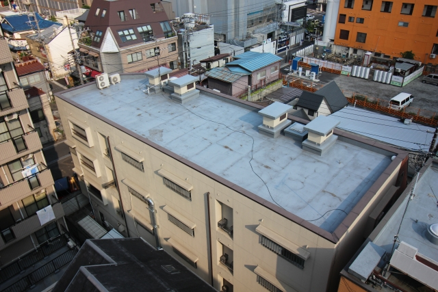 Waterproofing on the roof